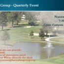 Quarterly Barnabas Event—November 2, 2016